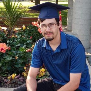 Josh On Track to Success graduate
